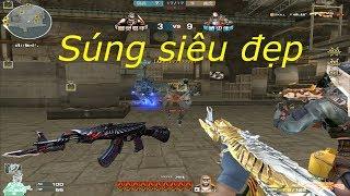 [ Bình Luận CF ] AK-47 Knife-Born Beast Noble Gold - Tiền