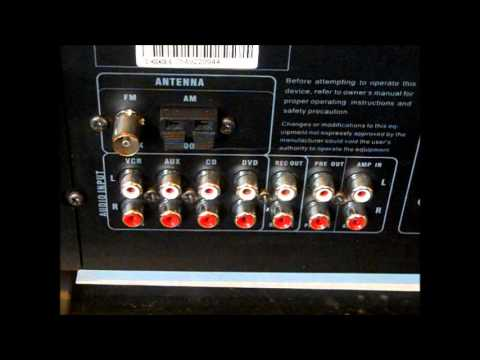 STEREO HOOK UP ( Tuner EQ And Receiver Amp Wiring ) PART 1
