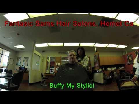Fantastic Sams Getting my hair cut