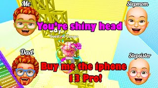 🍬 TEXT TO SPEECH 🍭 How to punish the evil stepmother and the mean stepsister 🤡