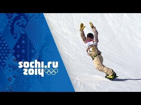 Sage Kotsenburg's Gold Winning Snowboard Slopestyle Run | Sochi 2014 Winter Olympics