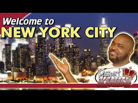 New York City review Welcome with w 4k footage