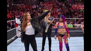 WWE Ronda Rousey WWE Royal Rumble 2018! Ronda Rousey Debuts Royal Rumble 2018