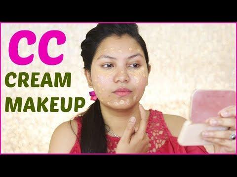 CC क्रीम मेकअप टुटोरिअल/INDIANGIRLCHANNEL TRISHA