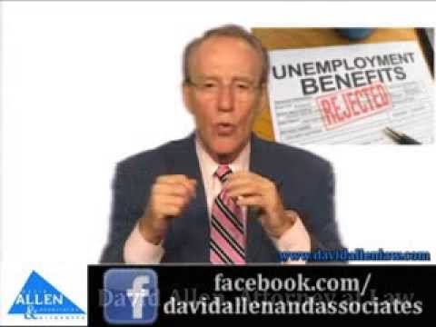David Allen - Early Retirement and Unemployment Compensation