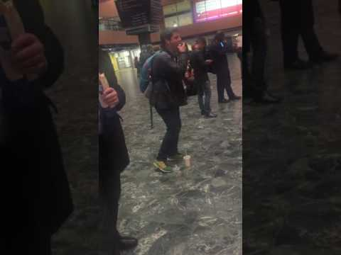 Euston Station Dancing Man