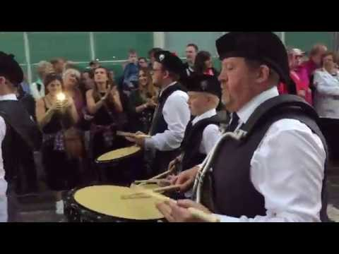 Cowal Games 2016 - Kirkcaldy & District Pipe Band
