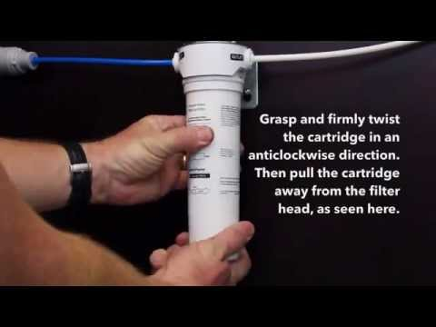 How to change the water filter cartridge | Fisher & Paykel