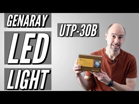 Genaray UTP-30B Bi-Color LED Light - Unbox & Review