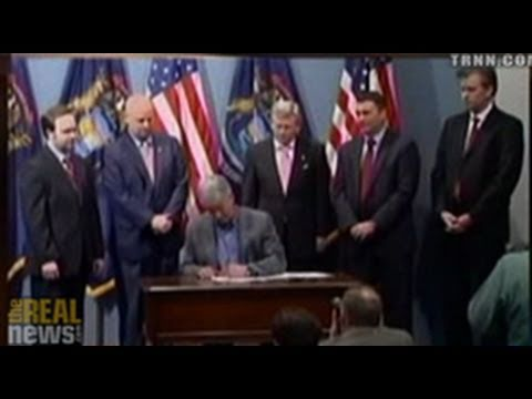 Draconian Michigan Bill Promoted by Major Corporations