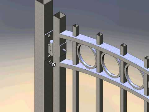 Tek Gate & Fence Garden gate animation