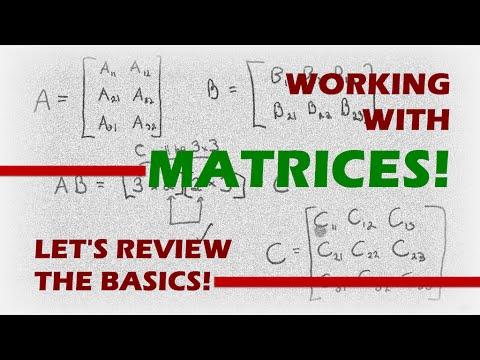 NUPOC VSG #106 - Learn Basic Matrix Math!
