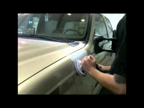 DIY How To Repair Small Hail Damage With Glazing Putty Before Painting Your Car