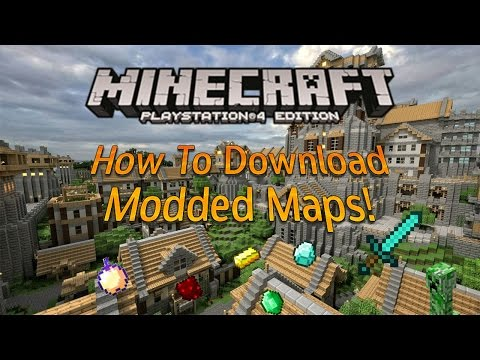 How To Download Modded Minecraft Maps Updated In 2017 PS4/PS3 Xbox 360/Xbox 1!