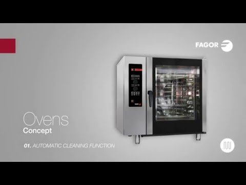 CONCEPT OVENS | Automatic cleaning function