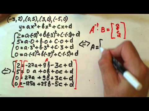 cubic function from 4 points.WMV