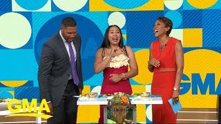 Ayesha Curry judges 2 weeknight meal recipes from 'GMA' viewers l GMA