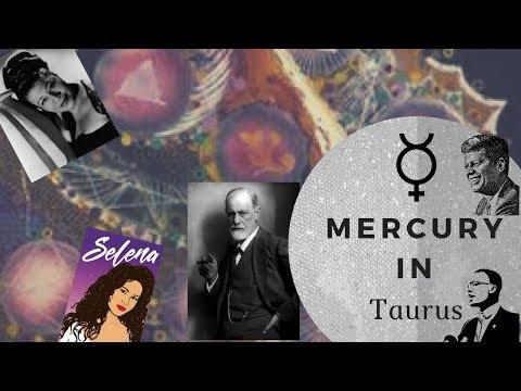 Mercury in Taurus Man or Woman