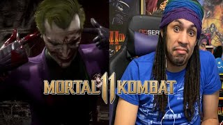 Mortal Kombat 11 Joker Reaction
