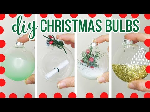 4 DIY Christmas Ornaments 2017 | Carter Sams