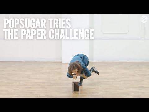 PopSugar Tries: The Paper Challenge