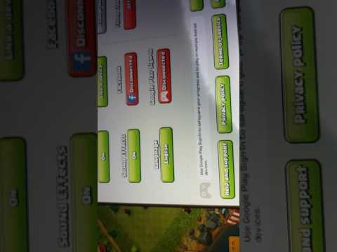 How to change clash of clans Gmail Account(Google and Apple ID)