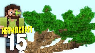 HermitCraft 7: 15 | MEGA BASE CANOPY START