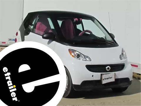 Installation of a Trailer Wiring Harness on a 2013 Smart Fortwo - etrailer.com