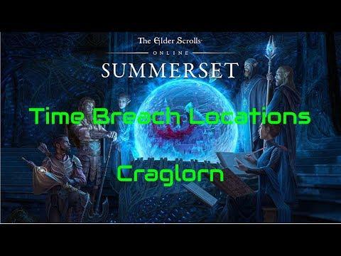 ESO Time Breach Locations Craglorn
