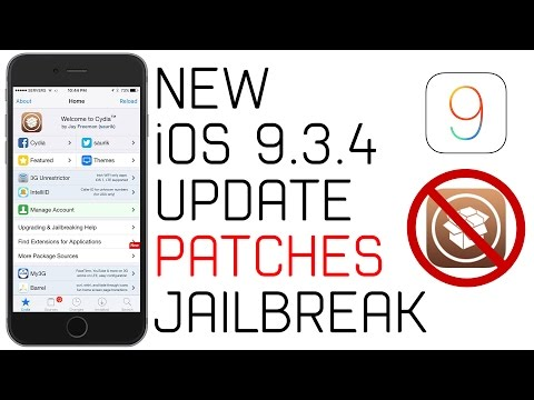 NEW iOS 9.3.4 Update Released! -PanGu Jailbreak Patched | How to Downgrade Back to iOS 9.3.3