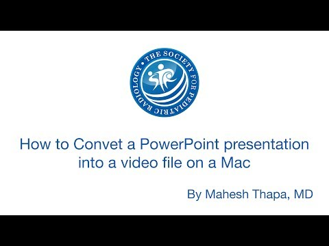 PowerPoint to video on Mac