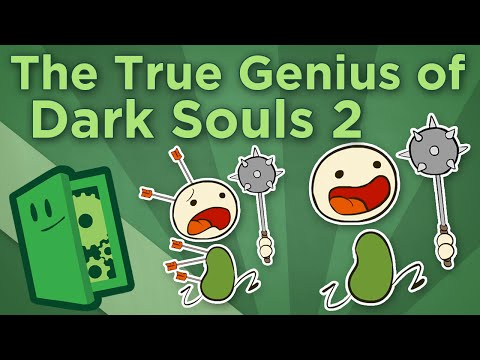 The True Genius of Dark Souls II - How to Approach Game Difficulty - Extra Credits