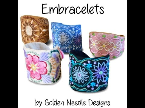 How to Make an Embroidered Cuff