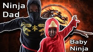Baby Ninja Vs Ninja Dad