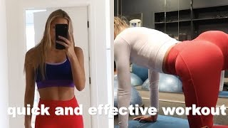 my workout routine while on the go!