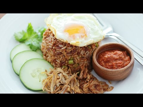 Sambal Fried Rice - 三巴炒饭