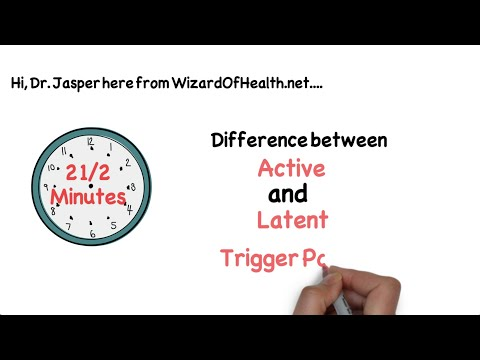 Active vs latent trigger points - what are latent trigger points?