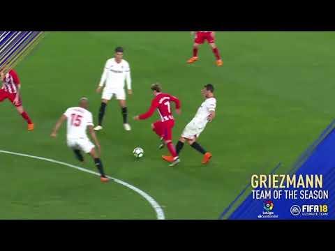 FIFA 18 Team of the Season -  LaLiga