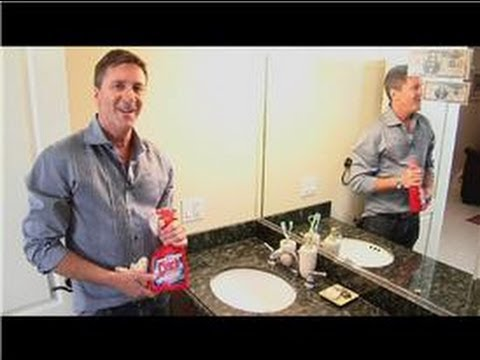 Home Cleaning Tips : How to Clean Bathroom Faucet Handles