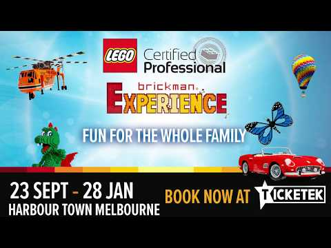 Brickman Experience is heading back to Melbourne!
