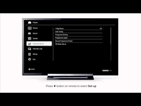 How to disable Shop mode on BRAVIA TV