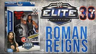 WWE FIGURE INSIDER: Roman Reigns  - WWE Elite Series 38 Toy Wrestling Figure