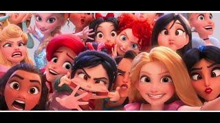 NEW Wreck-It Ralph 2 TRAILER - Disney Princesses