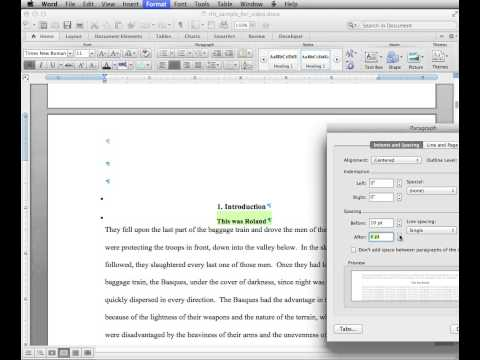 Thesis & Dissertation Prep 6: Creating a Table of Contents in MS Word