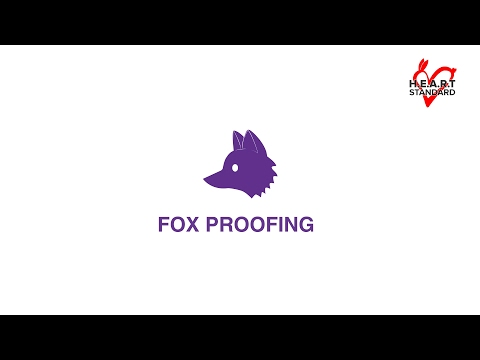 3.  Fox Proofing