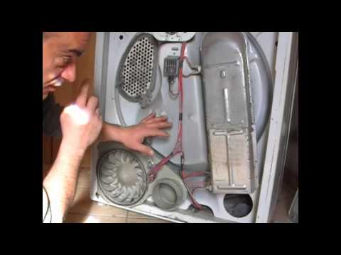 How to clean your clothes dryer. How to make it hot again.