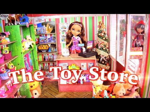 DIY - How to Make: Doll Toy Store - CHRISTMAS - Handmade - Doll - Crafts