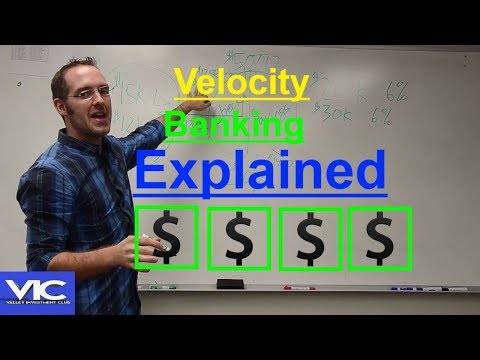 Velocity Banking - Become Debt Free in 5-7 Years