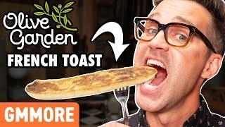 Olive Garden French Toast Taste Test