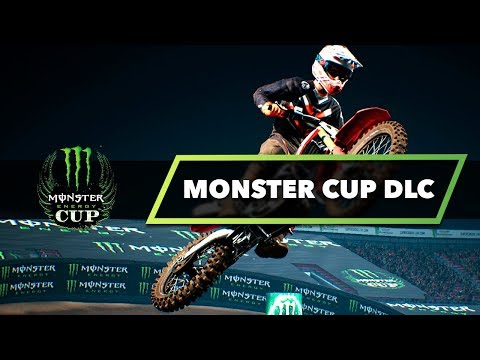 Monster Energy Cup DLC! - Monster Energy Supercross The Game!